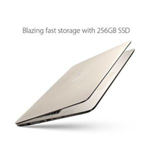 Look how sleek and think this ASUS laptop is! Image Credit: Amazon