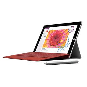 With keyboard dock, Surface look like the picture above. Image Credit: Microsoft/Amazon